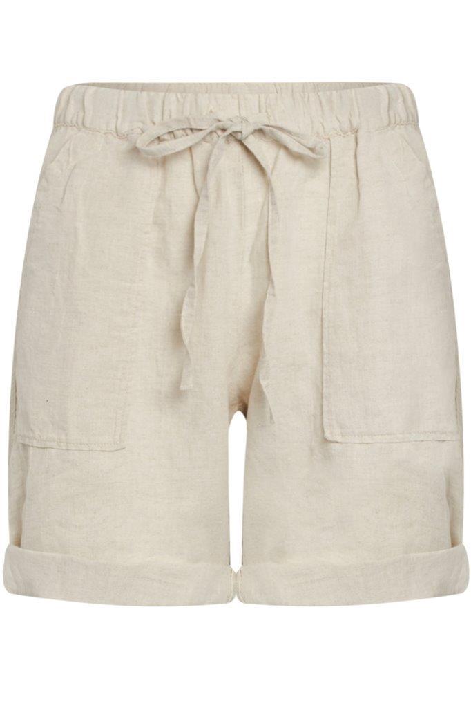 Leinen-Shorts / Bermuda (supersoftes hochwertiges Leinen)
