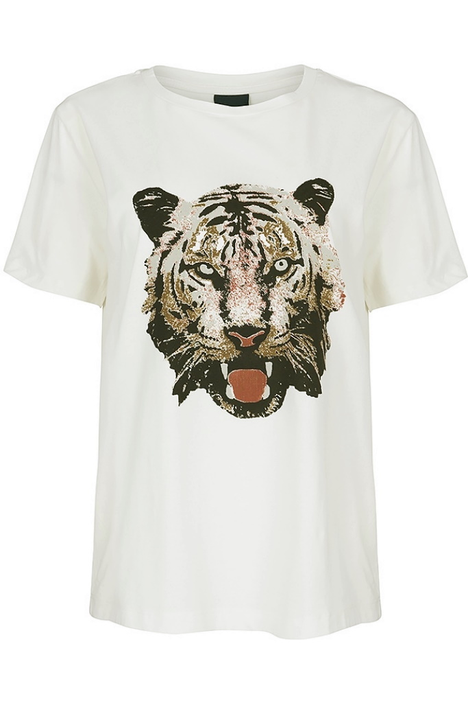 Shirt head of tiger
