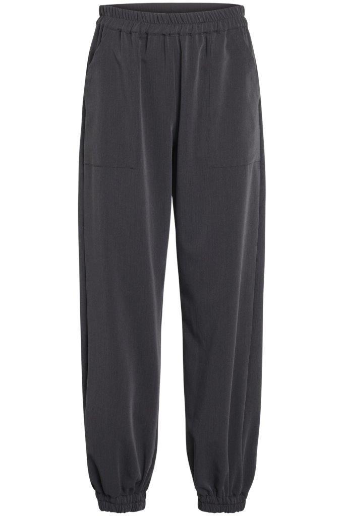 bequeme Gabardine Jogg-Pants - 2 Taschen vorne und am Knöchel elastisch