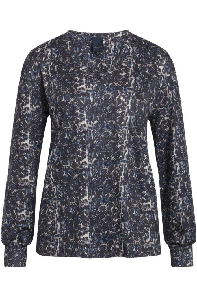 Jersey-Langarmshirt aus atmungsaktiver knitterarmer Mikrofaser (Kofferware)