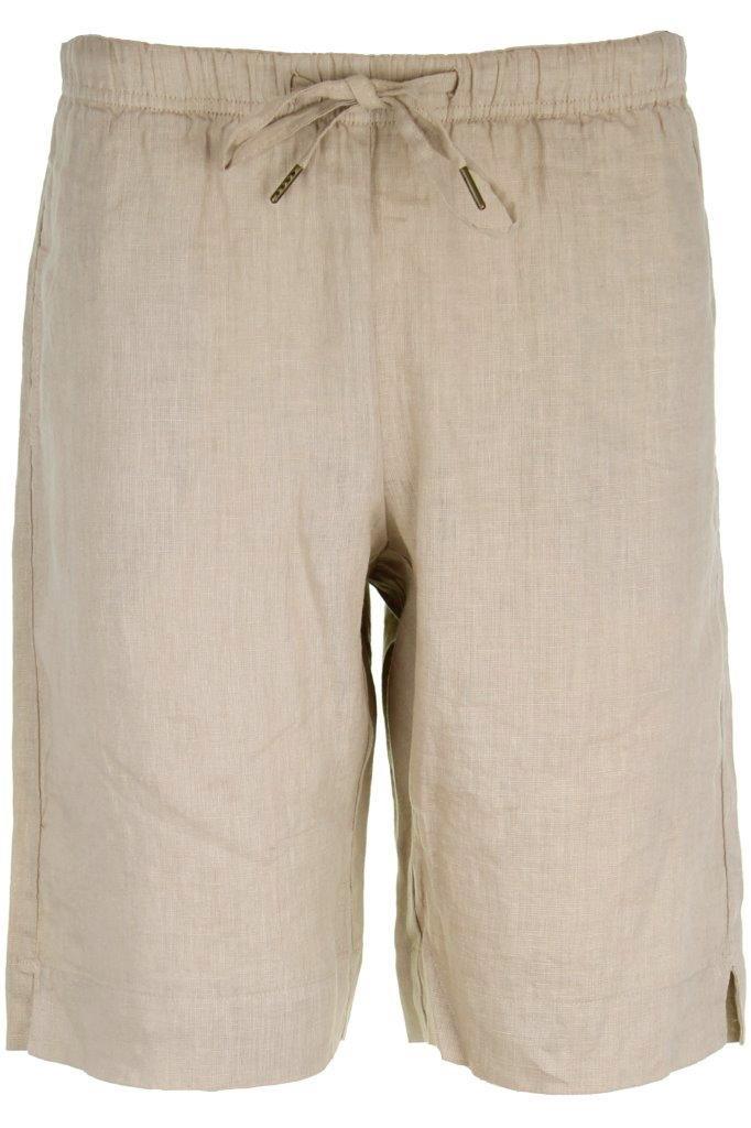 Leinen-Shorts aus 100% supersoftem, hochwertigem getrommelten Leinen, kein Bügeln nach der Wäsche nötig