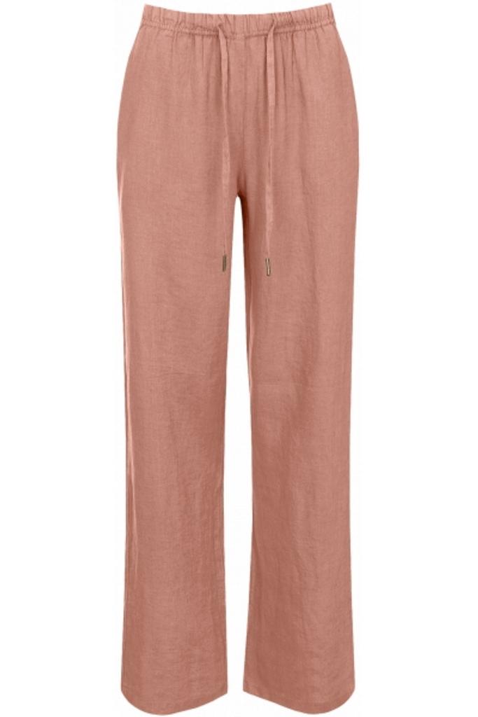Leinen-Pants aus 100% supersoftem, hochwertigem getrommelten Leinen, kein Bügeln nach der Wäsche nötig