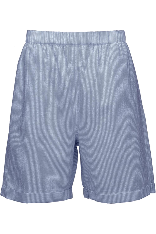 Leinen-Viskose-Bermuda-Shorts